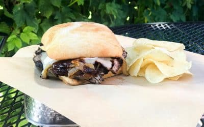 Backyard Tap House Weekly Special: Tri-Tip Sammich