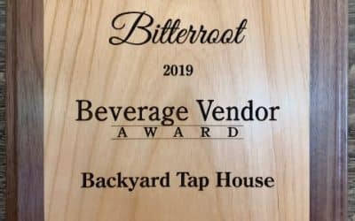 Voted Best Beverage Vendor – Bitterroot Tour of Homes: Taste of the Bitterroot Event