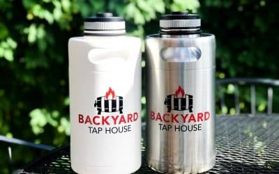 New beer growlers now in stock