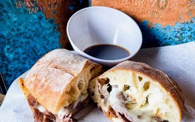Prime Rib French Dip & Mushroom Barley Soup | Backyard Weekly Specials