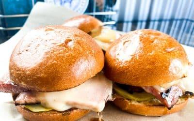 Ham & Swiss Sliders and Smokey Ham & Corn Chowder | Backyard Weekly Specials