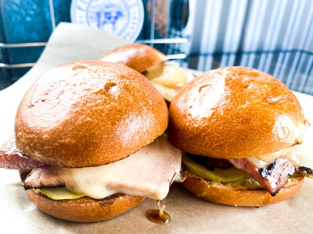 Ham & Swiss Sliders | Florence, MT | Backyard Tap House