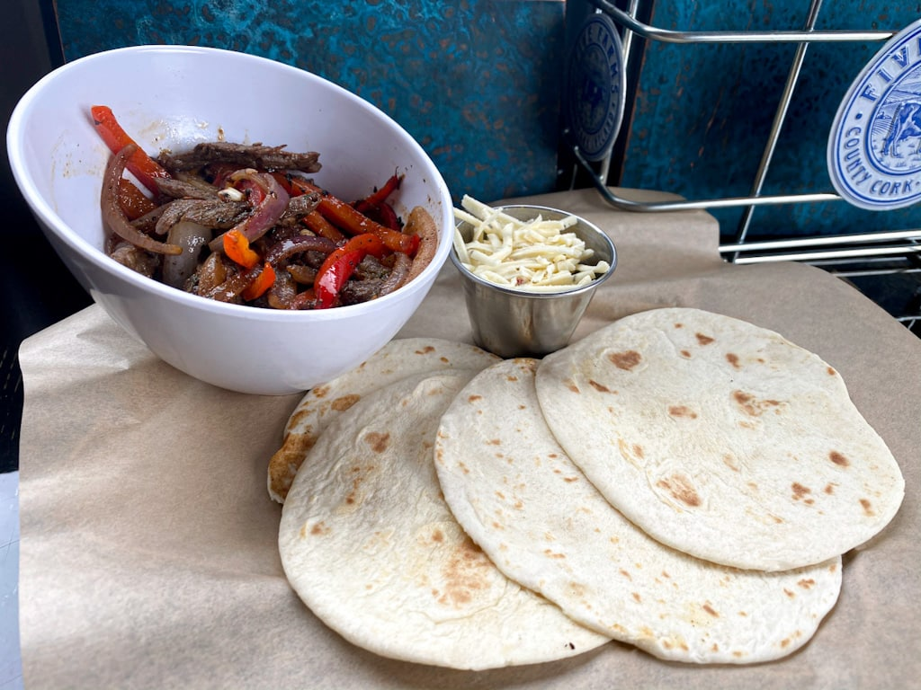 Fajitas - Backyard Tap House Weekly Special
