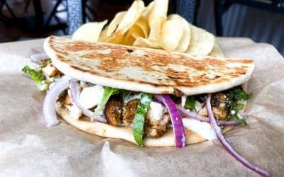 Chicken Feta Pita & Bacon Beer Cheese Soup | Backyard Weekly Specials