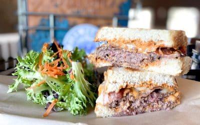 Patty Melt & Black Bean & Cilantro Veggie | Backyard Weekly Specials