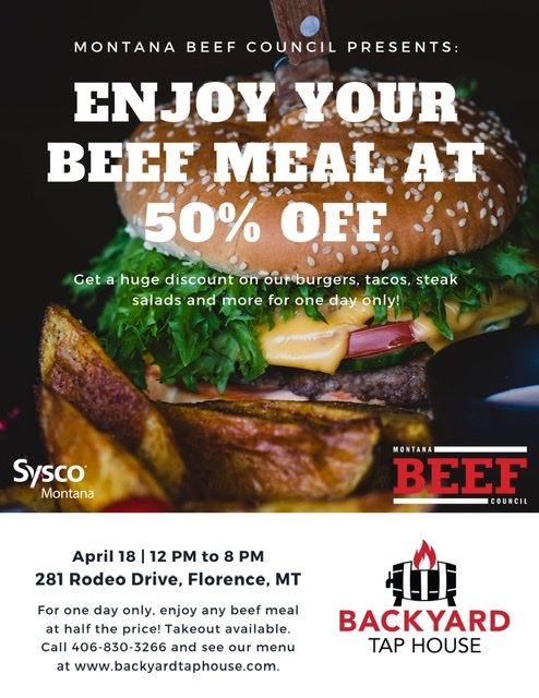 Montana Beef Council 50% Off Promotion