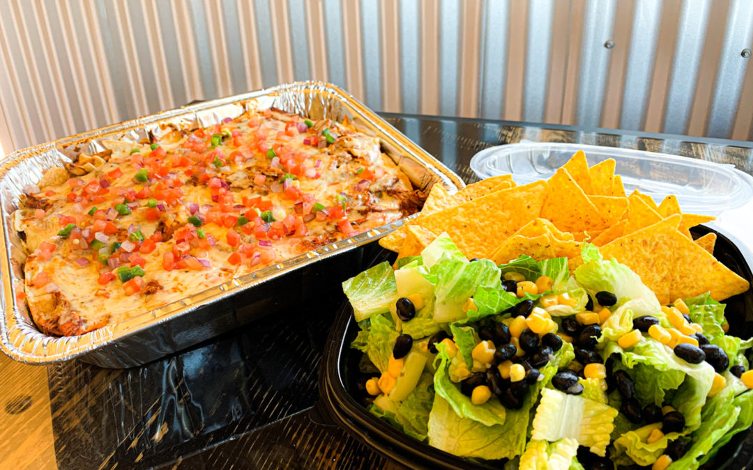 Take & Bake Chicken Enchilada Casserole
