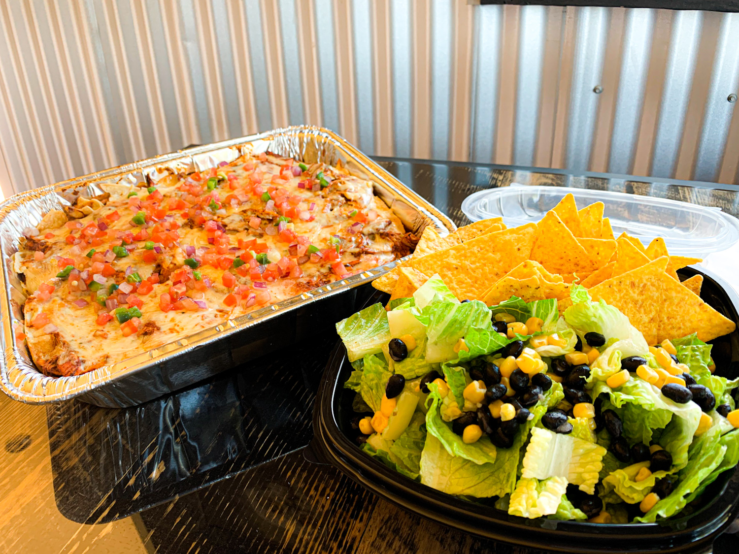 Backyard Tap House Take & Bake Chicken Enchilada Casserole | Florence, MT