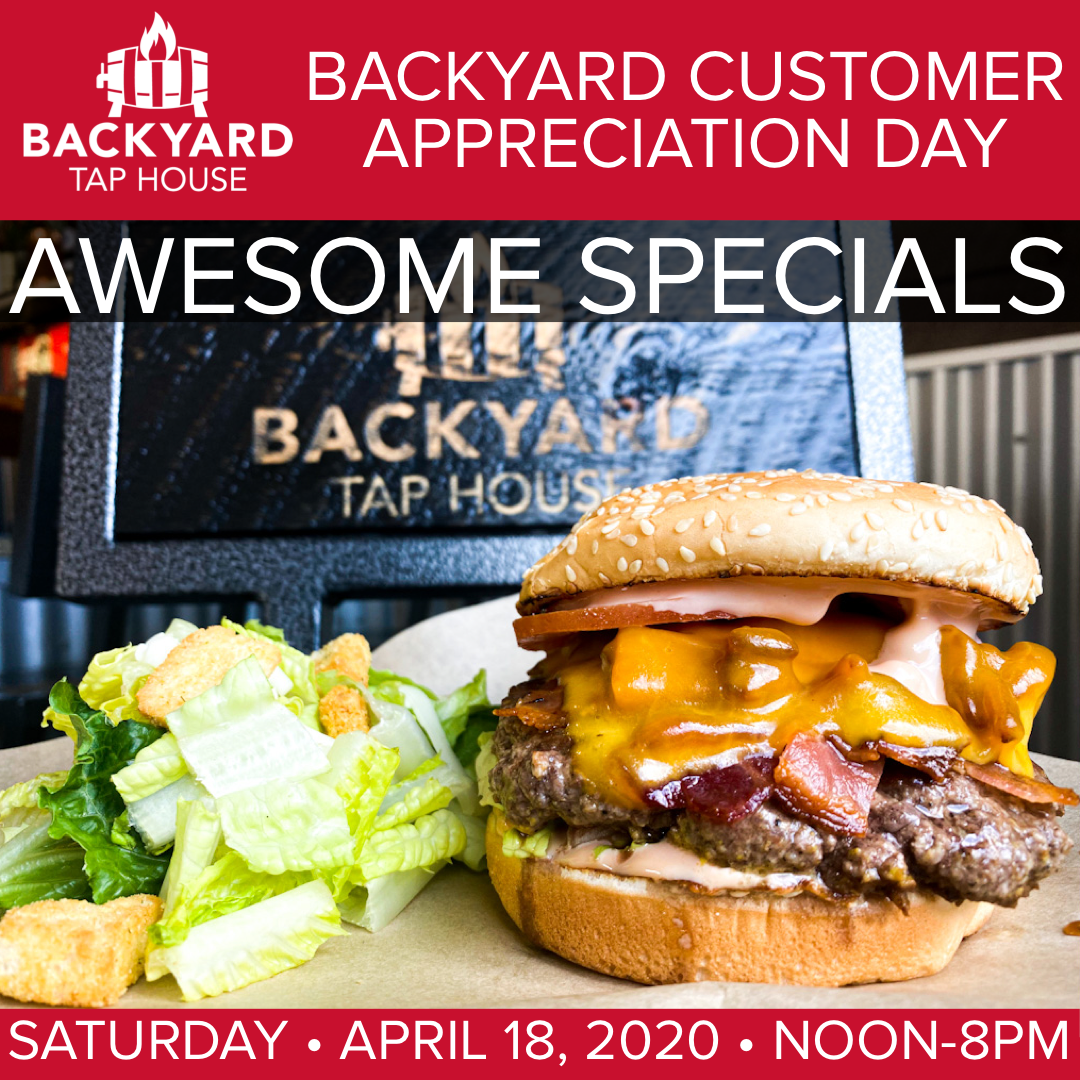 Backyard Customer Appreciation Day 2020 | Florence, MT