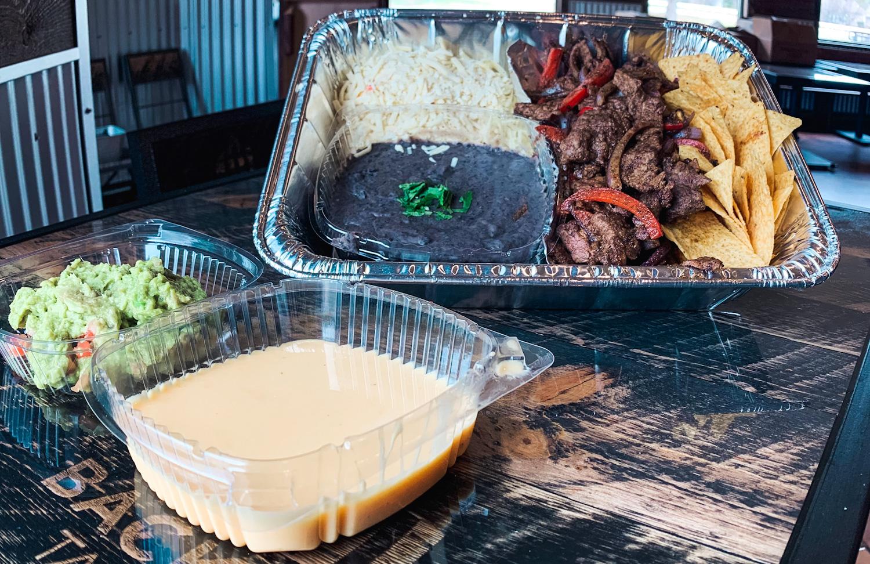 Steak Fajitas - Backyard Tap House   Florence, MT