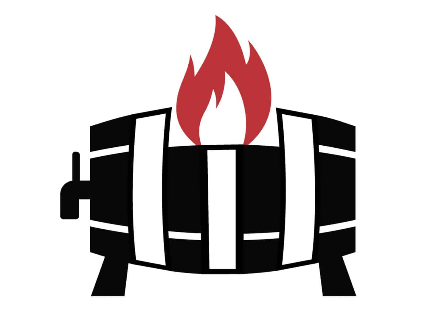 Backyard Tap House Keg Logo