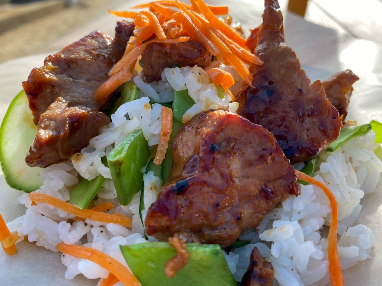 Teriyaki Pork Bowl - Weekly Special | Backyard Tap House - Florence, MT