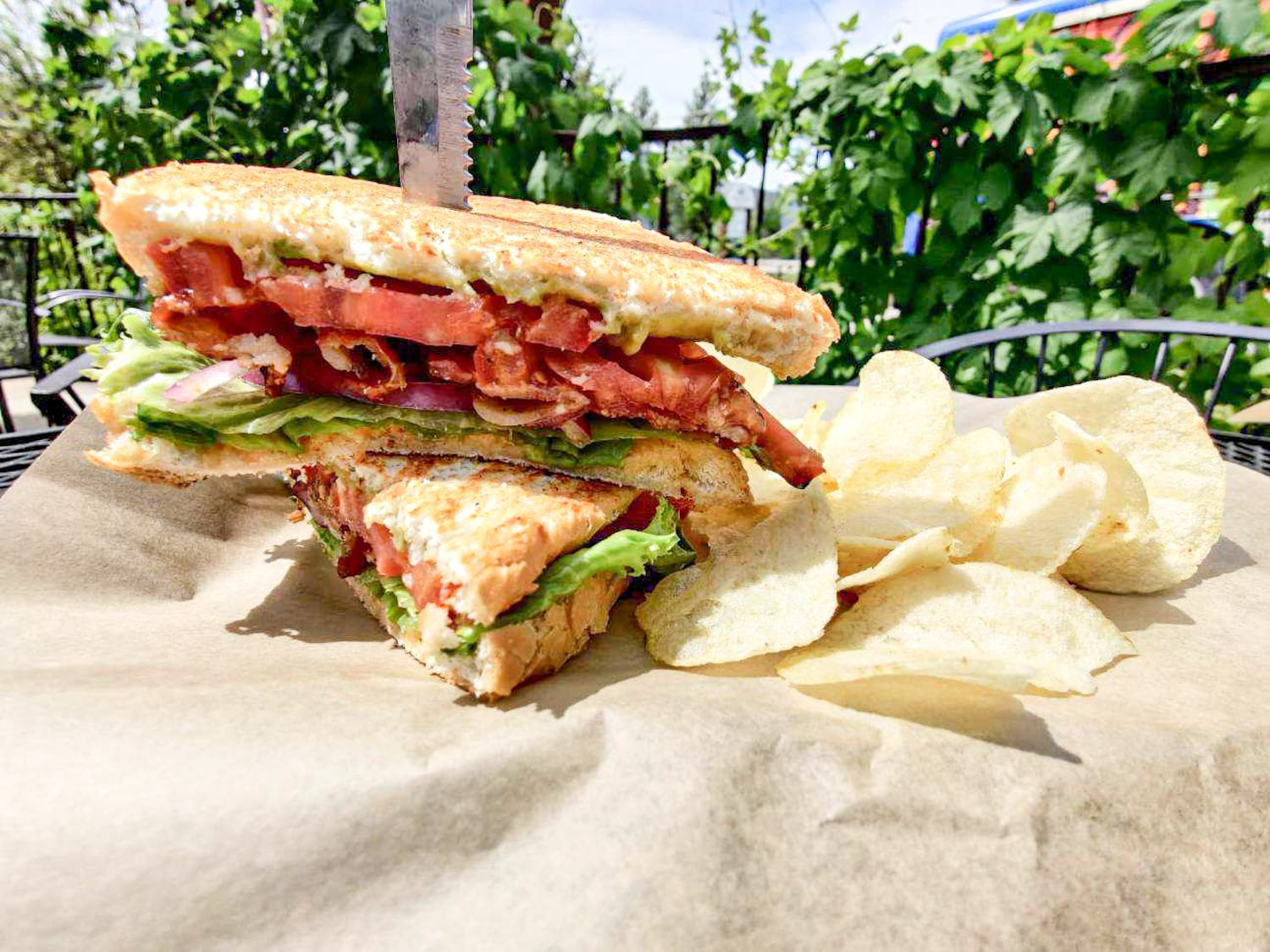 Loaded BLT | Backyard Tap House - Florence, MT
