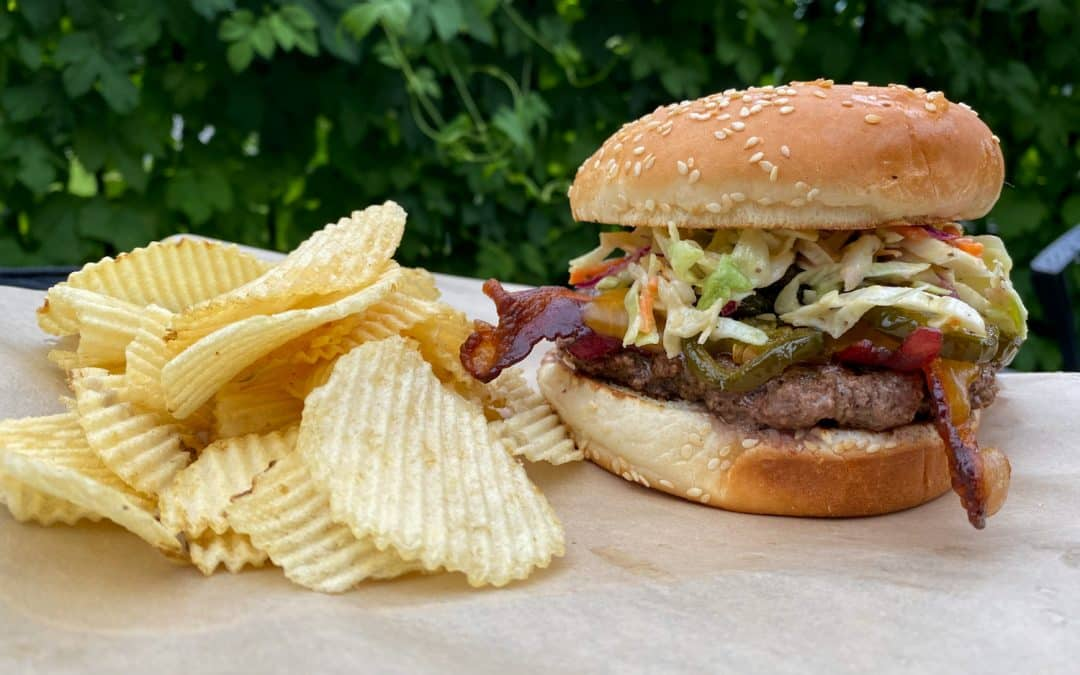 Slaw Burger – Weekly Special