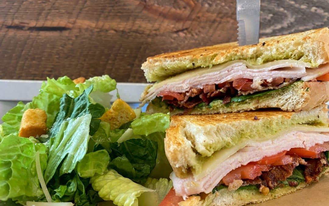 Turkey Bacon Club Sammich