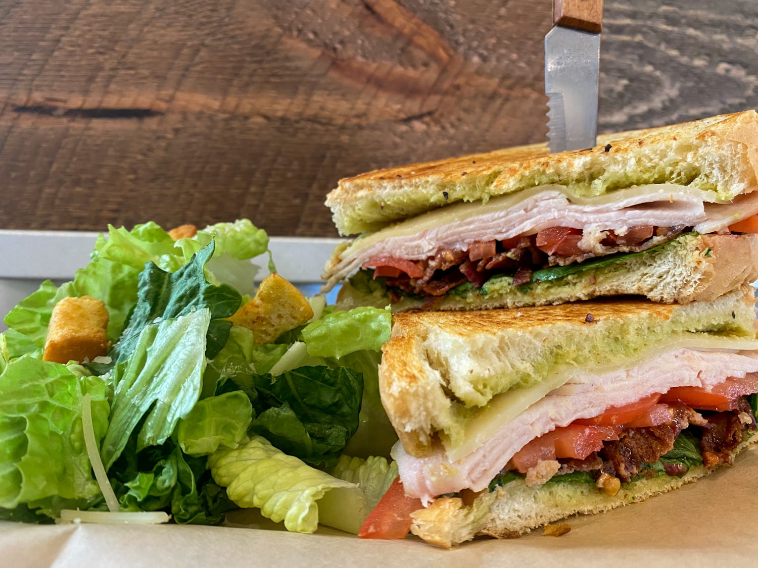 Turkey Bacon Club - Weekly Special | Backyard Tap House - Florence, MT