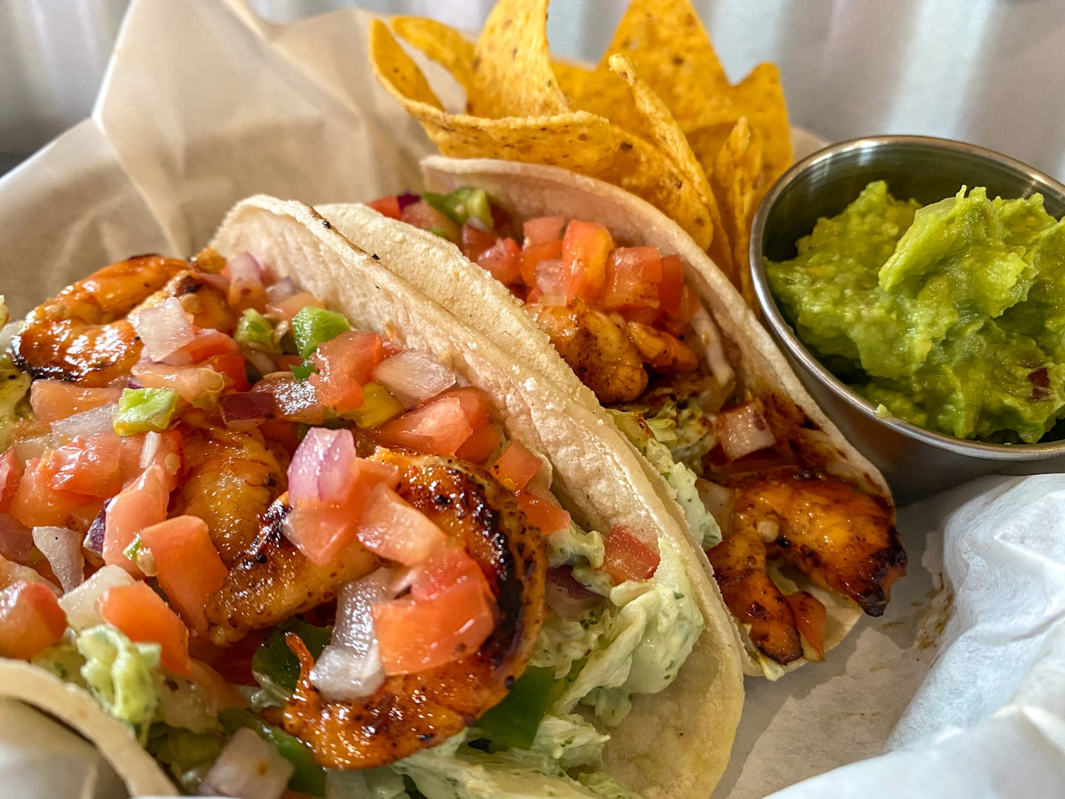 Shrimp Yard Tacos - Weekly Special | Backyard Tap House - Florence, MT