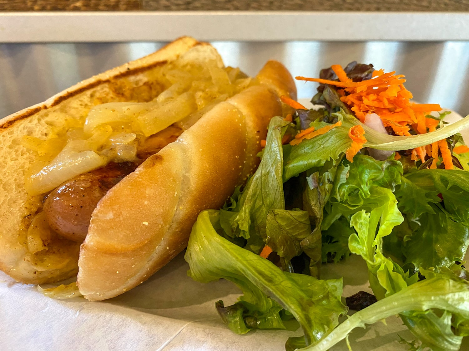 Chicken Apple Brat - Weekly Special | Backyard Tap House - Florence, MT