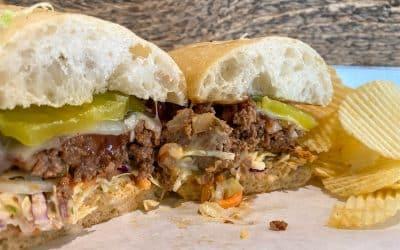BBQ Meatloaf Sammich