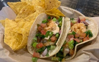Shrimp Yard Tacos