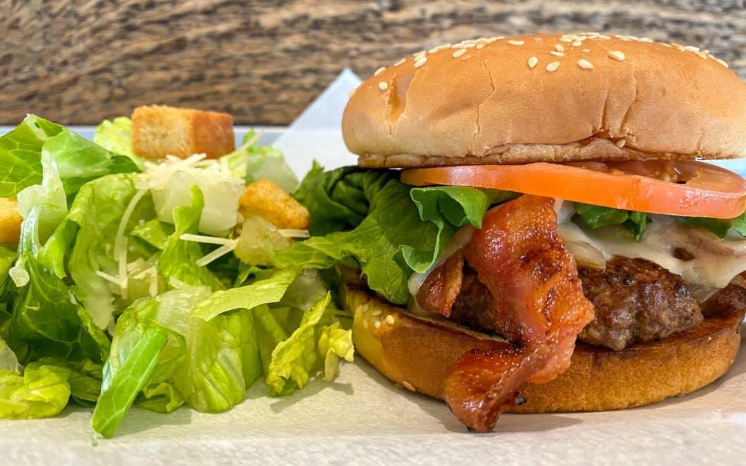 Wisconsin Cheddar Burger
