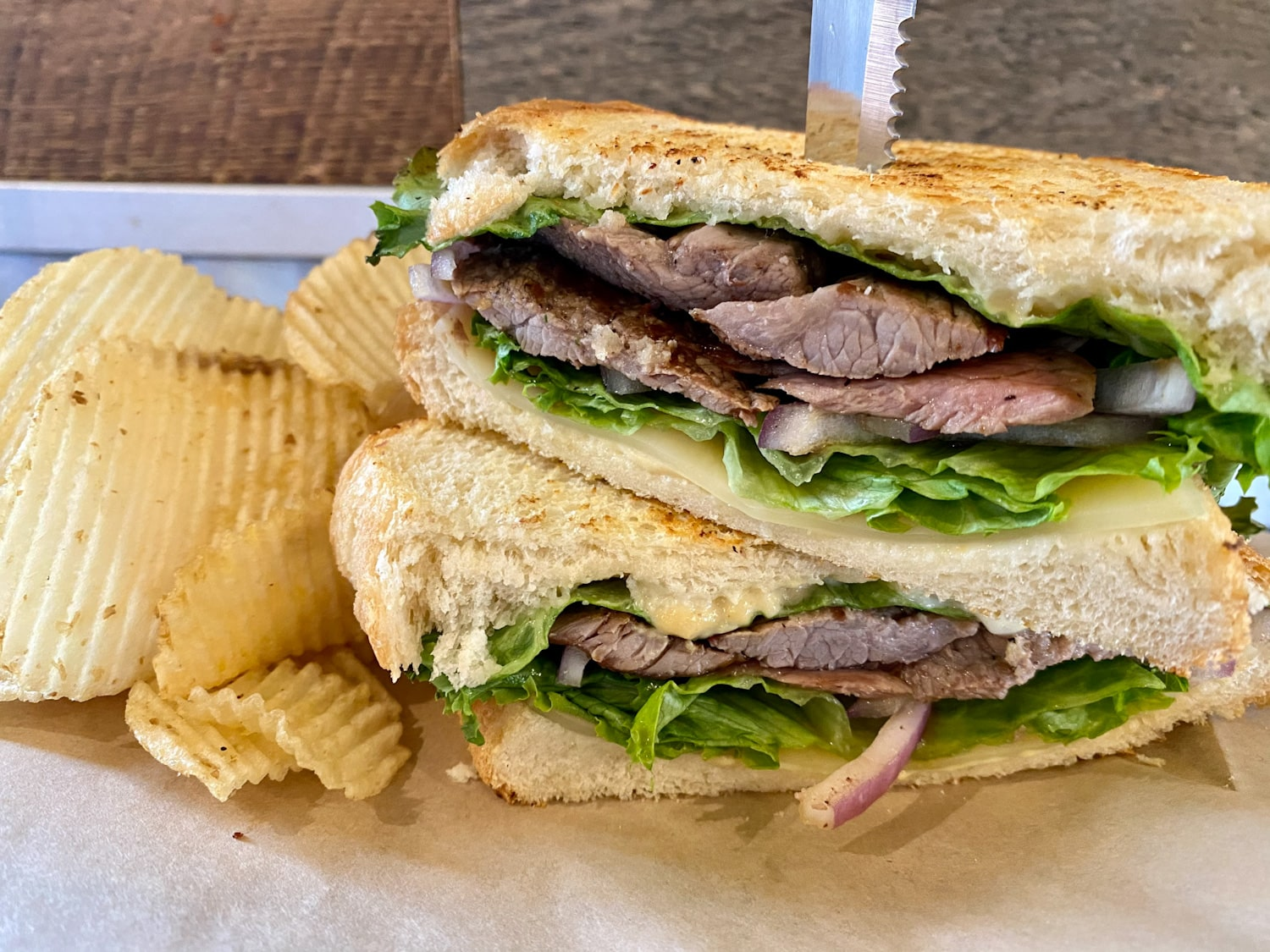 Steak-sammich